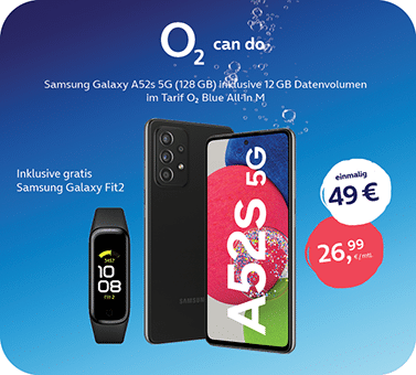 o2 – Samsung A52s + fit2